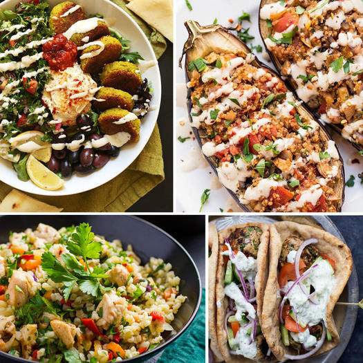 Diet Dinner Recipes  50 Easy Mediterranean Diet Recipes and Meal Ideas