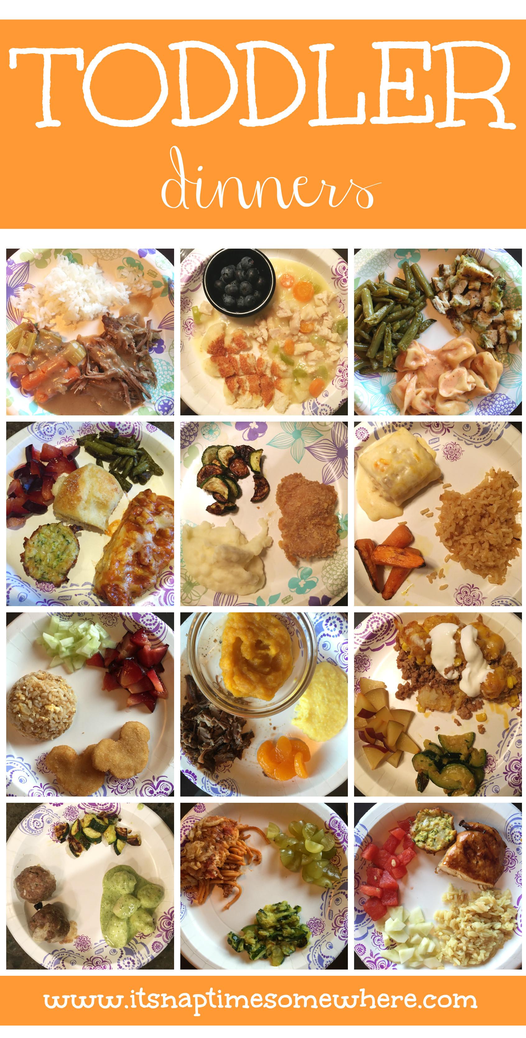 Different Dinner Ideas  Toddler Meals