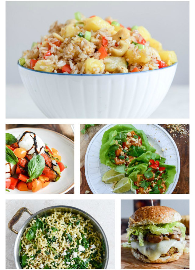 Different Dinner Ideas  20 Weeks of different Healthier Dinner Ideas