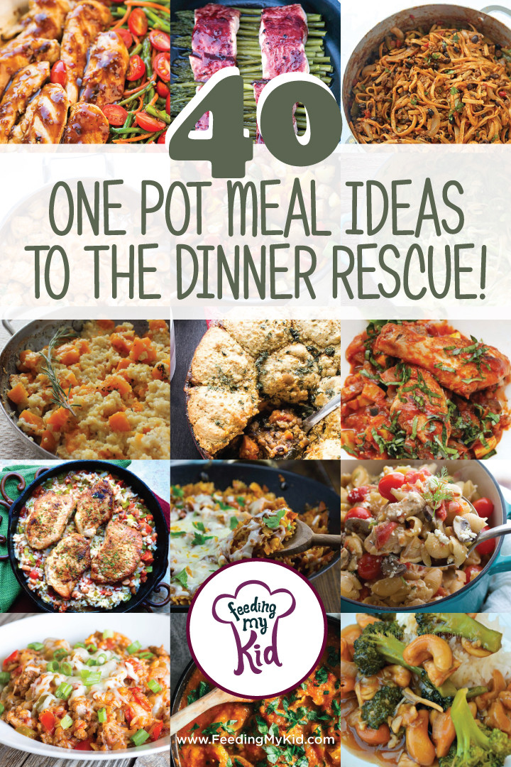Different Dinner Ideas  40 e Pot Meals Ideas to the Dinner Rescue