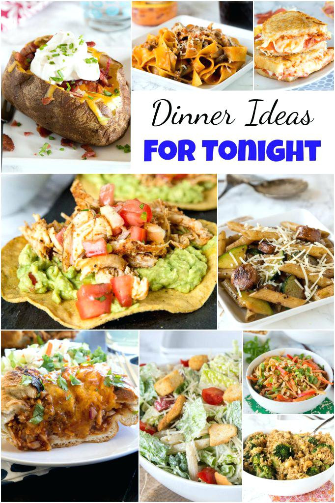 Different Dinner Ideas  Dinner Ideas Something Different Dinner Ideas For Tonight