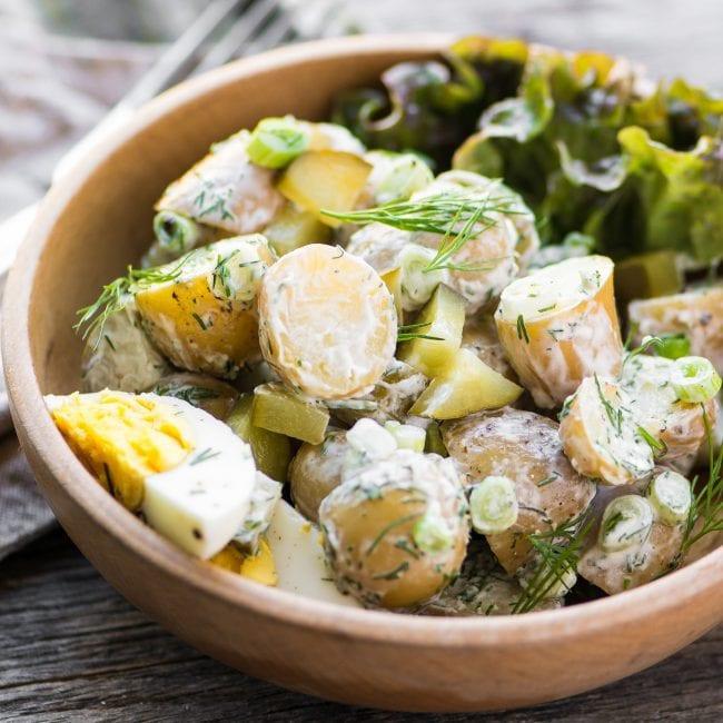 Dill Pickle Potato Salad  Dill Pickle Potato Salad