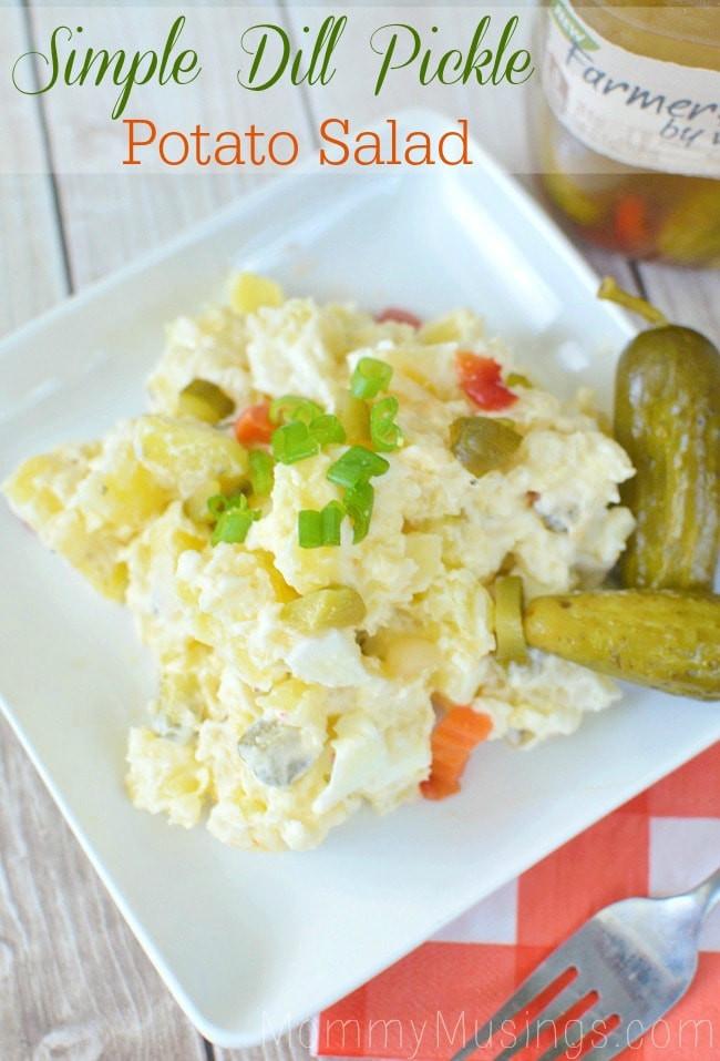 Dill Pickle Potato Salad  Dill Pickle Potato Salad Recipe