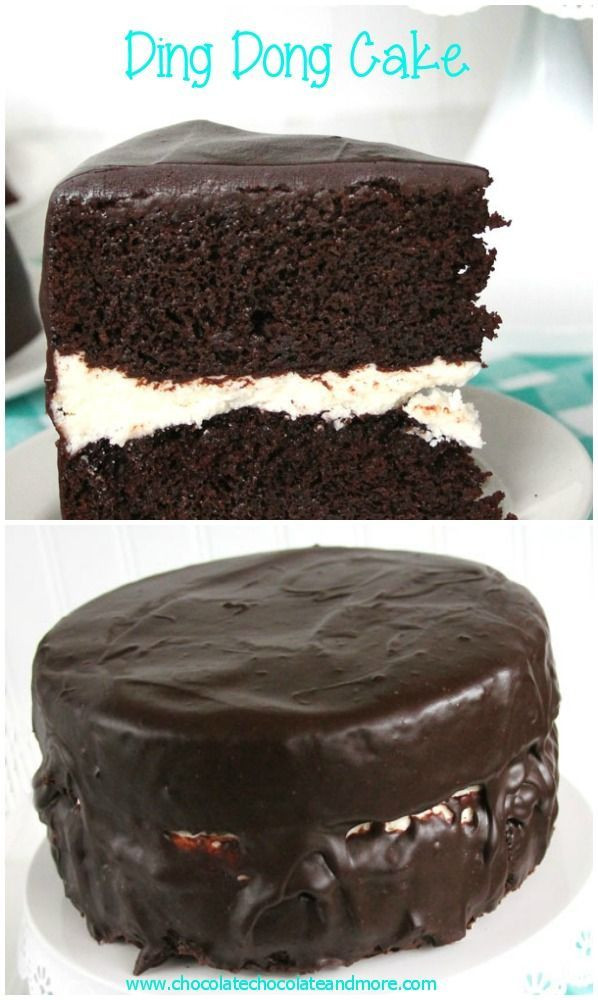 Ding Dong Dessert  Ding Dong Cake Recipe