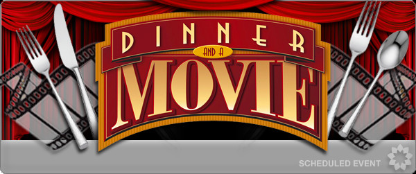 Dinner And A Movie  Potluck Dinner and a Movie Bring a DVD or BRD CSWriters