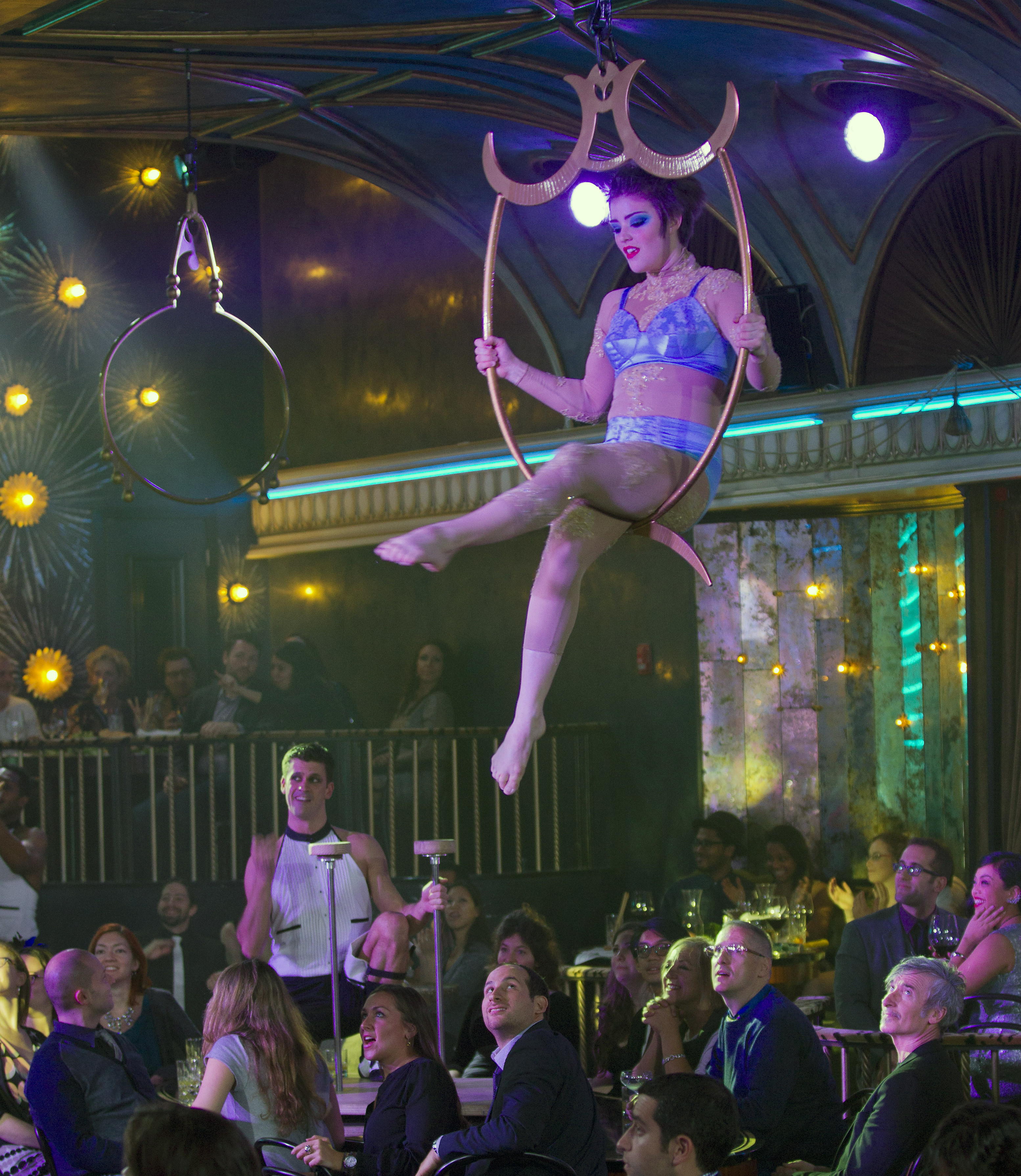 Dinner And A Show Nyc  Dinner is the show at NYC's new dining scene