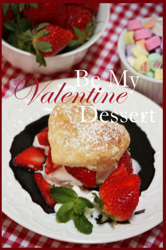 Dinner And Desserts  BE MY VALENTINE DINNER AND DESSERT StoneGable