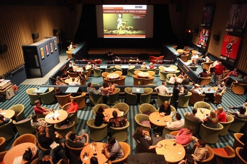Dinner And Movie Theater  10 Coolest fiest and Strangest Movie Experiences