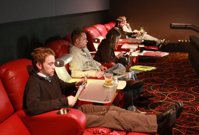 Dinner And Movie Theater  Movie Theaters That Serve Alcohol in Boston