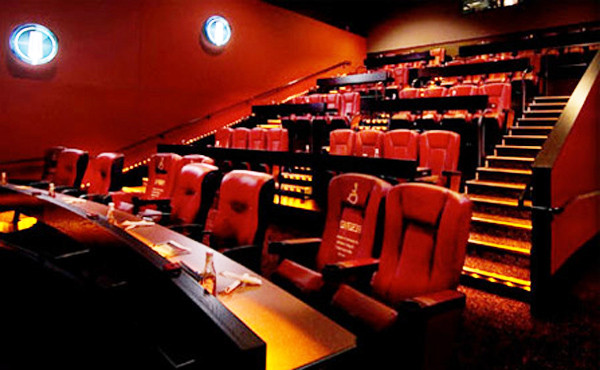 Dinner And Movie Theater  The Rise of Dinner Movie Theaters Dinner & Movie How