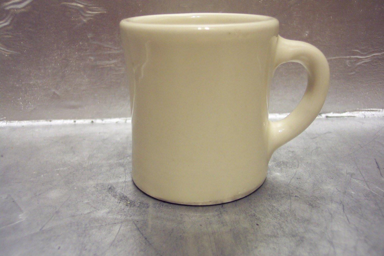 Dinner Coffee Mugs  Vintage Restaurant Coffee Mug VICTOR