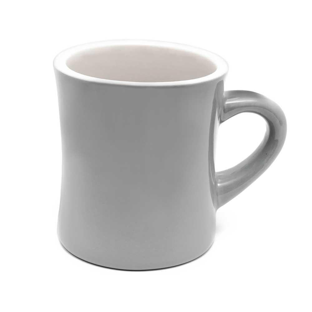 Dinner Coffee Mugs  Grey Diner Mug Coffee Mugs mercial
