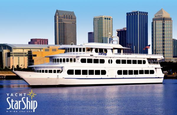 Dinner Cruise Tampa  Yacht Starship Dining Cruises Restaurant Channelside