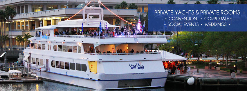 Dinner Cruise Tampa  Private Yacht Charters Tampa Bay FL