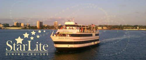 Dinner Cruise Tampa  Starlite Majesty Lunch & Dinner Cruises of Clearwater