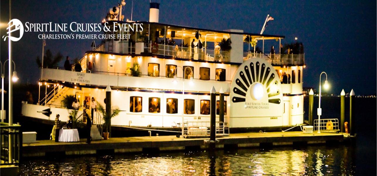 Dinner Cruises Charleston  Tuesday Date Night Charleston Dinner Boat Cruise