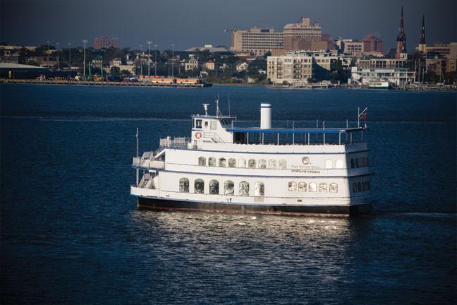 Dinner Cruises Charleston  SpiritLine Dinner Cruise Chef