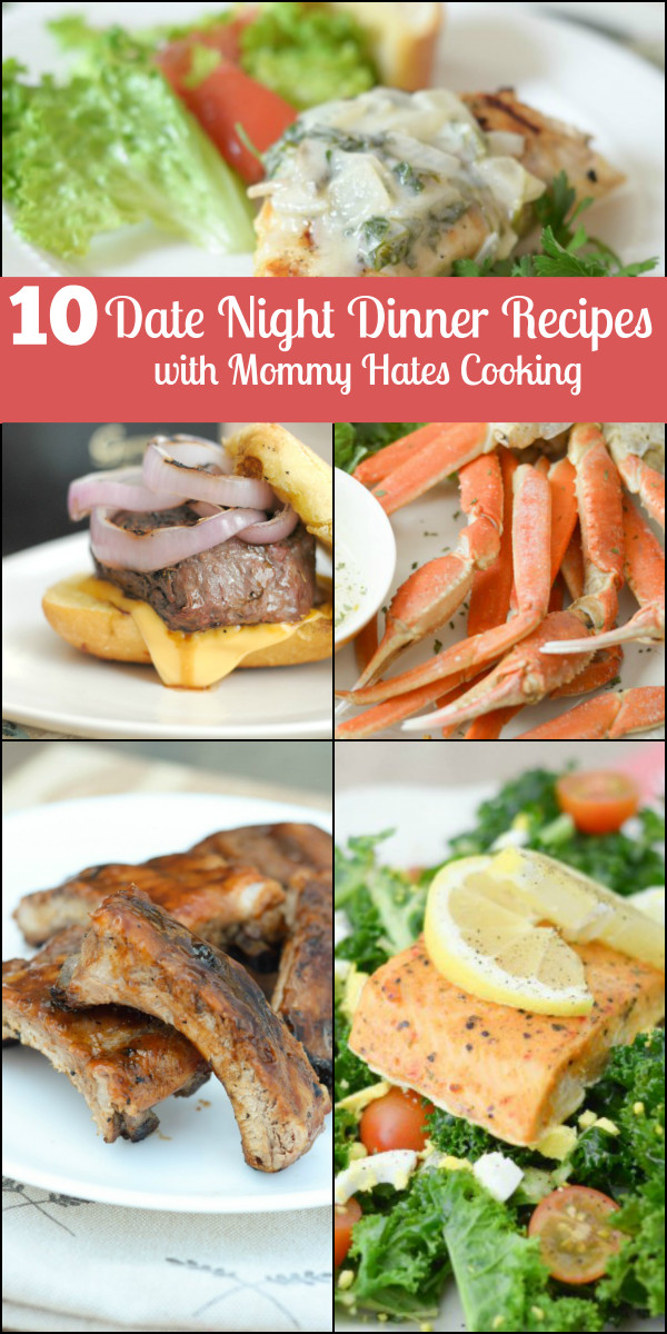 Dinner Date Recipe  10 Date Night Dinner Ideas Mommy Hates Cooking