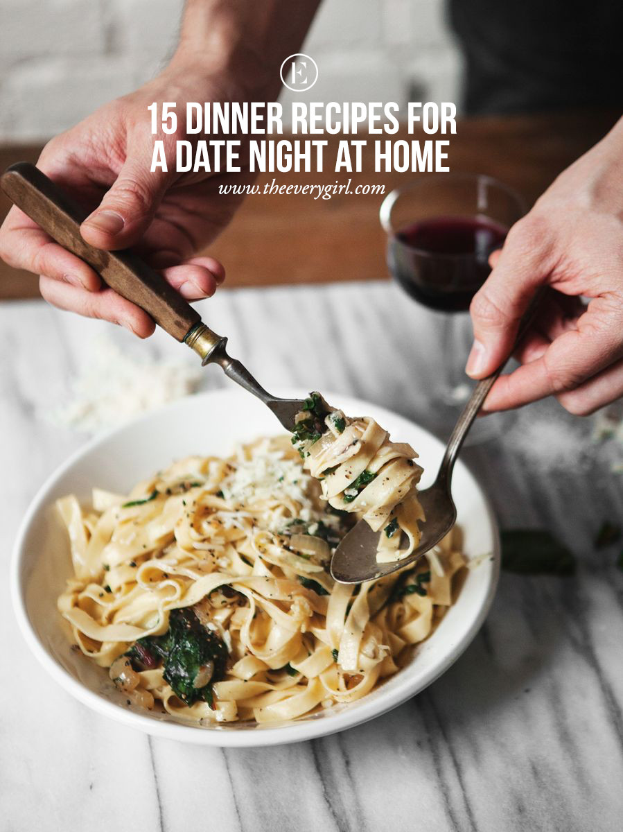 Dinner Date Recipe  15 Dinner Recipes for a Date Night at Home The Everygirl