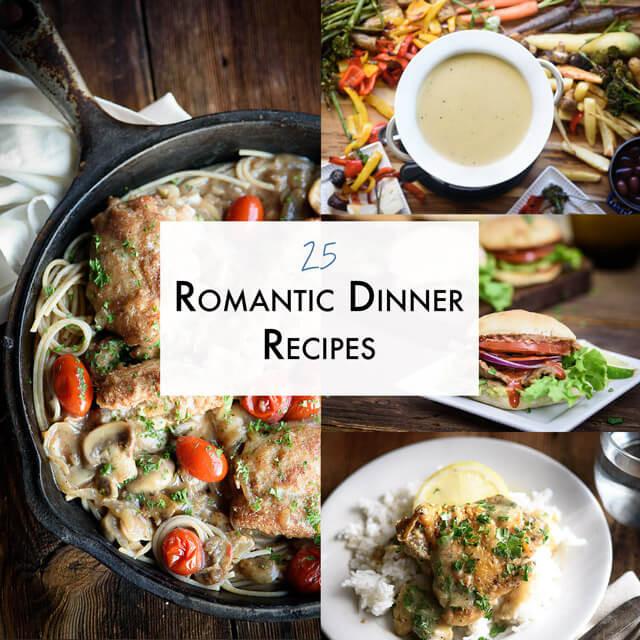 Dinner Date Recipe  25 Romantic Dinner Recipes