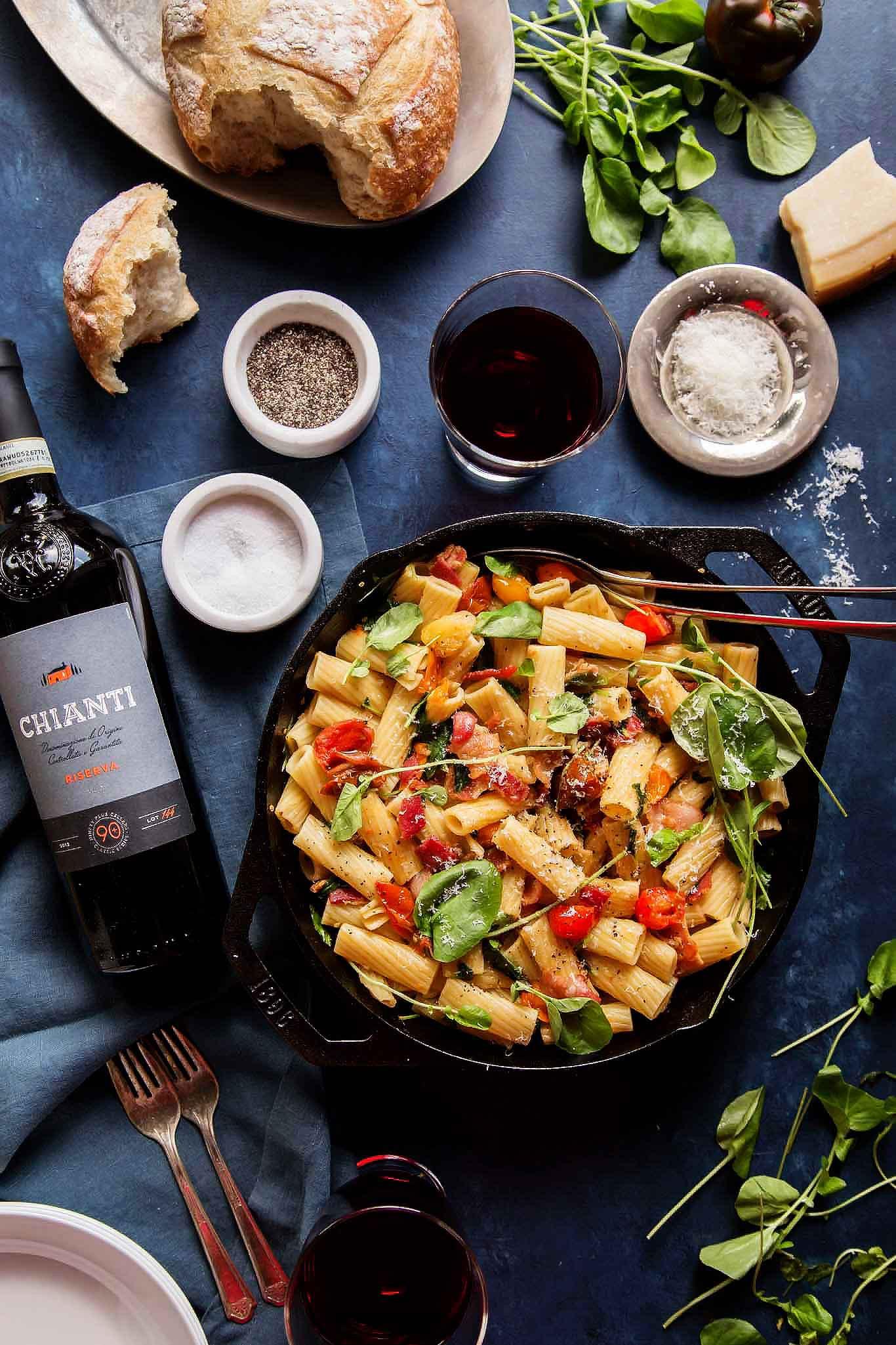 Dinner Date Recipe  30 Minute BLT Pasta $30 Date Night