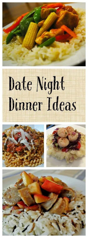 Dinner Date Recipe  Date Night Dinner Ideas