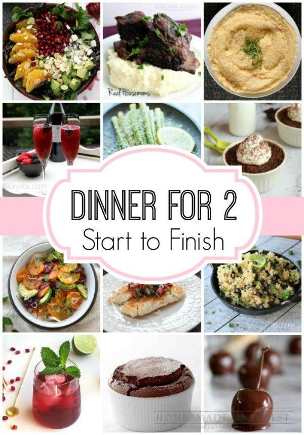 Dinner Date Recipe  Best 25 Romantic dinners ideas on Pinterest