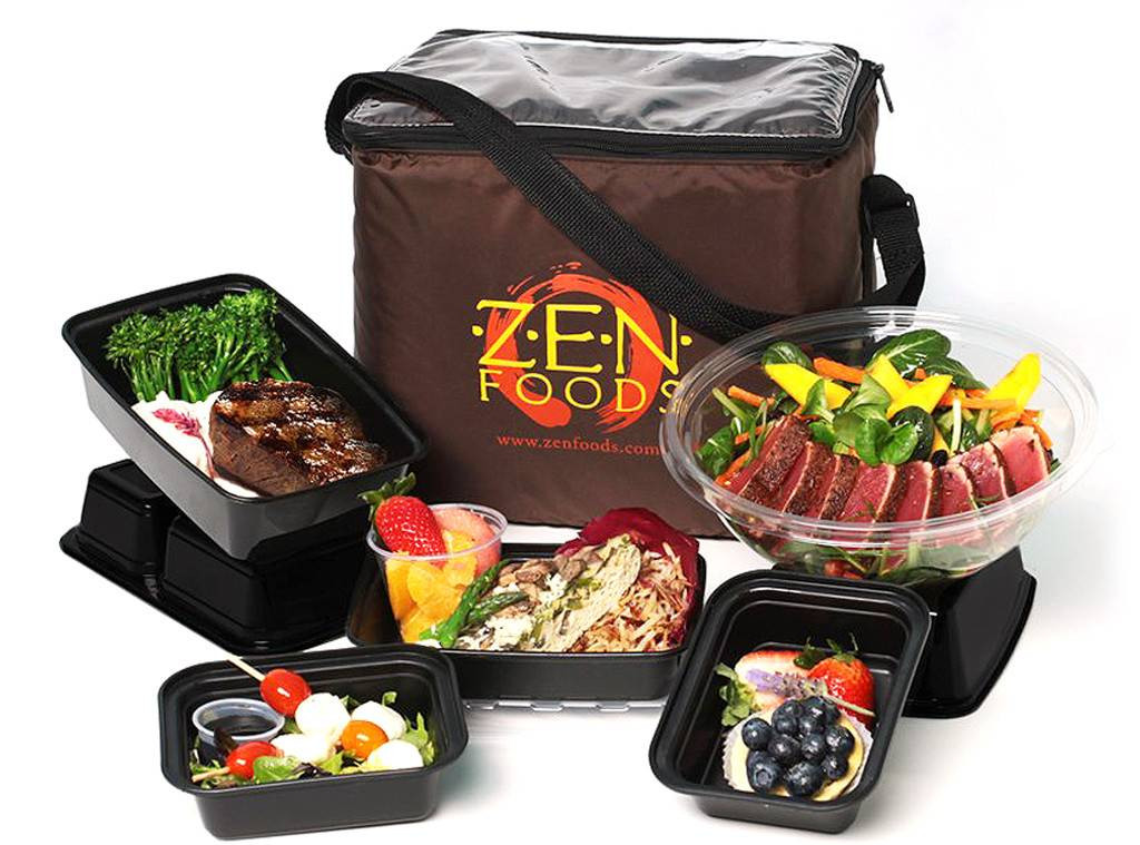 Dinner Delivery Service  Z E N Foods from 8 Healthy Meal Delivery Services Celebs