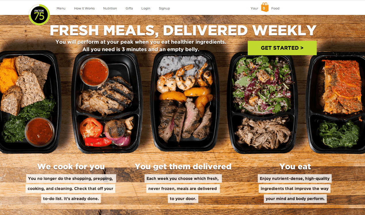 Dinner Delivery Service  Amazing meals from a Chicago local healthy delivery