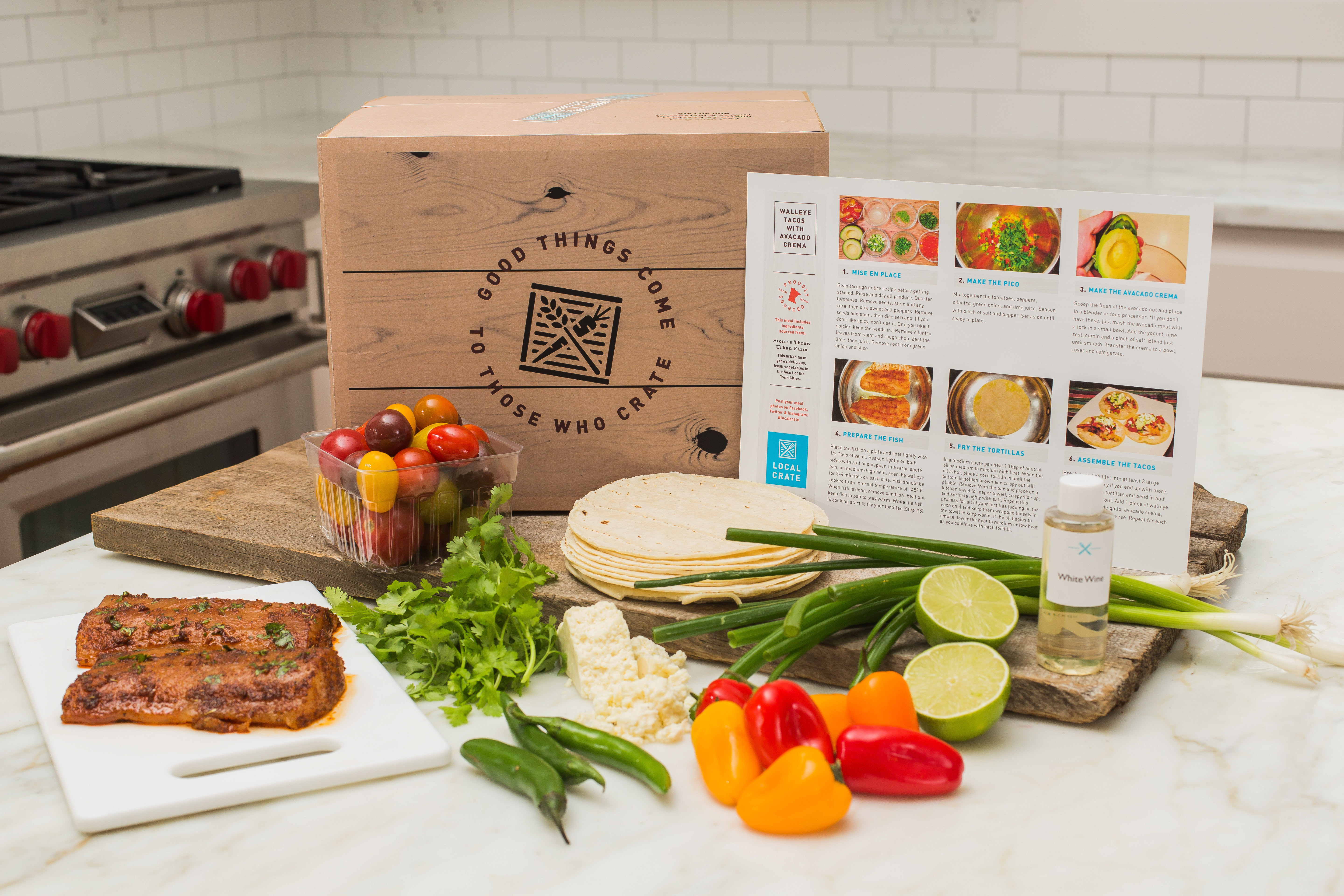 Dinner Delivery Service  Local Crate – New Meal Delivery Service in Minnesota
