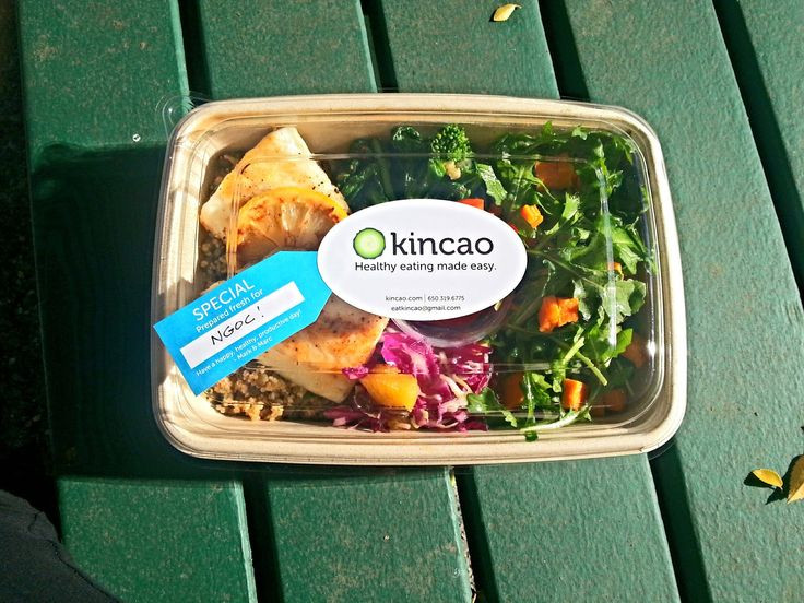Dinner Delivery Service  Kincao healthy lunch delivery service in Campbell and Los