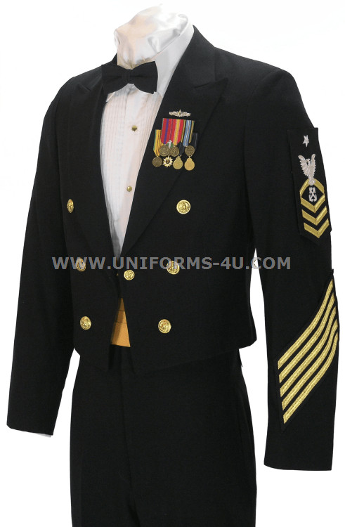 Dinner Dress Blues  US NAVY DINNER DRESS BLUE ENLISTED CPO UNIFORM
