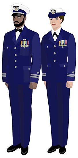 Dinner Dress Blues  Mess dress Howling Pixel