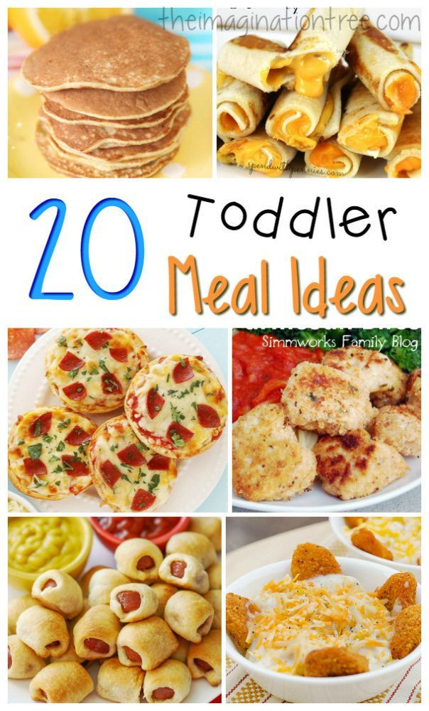 Dinner For Kids  20 Great Toddler Meal Ideas Yummies