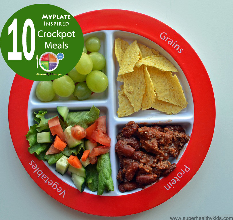 Dinner For Kids  Top 10 Healthy MyPlate Inspired Crockpot Meals