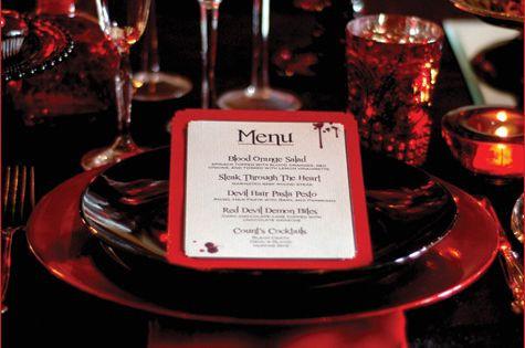 Dinner For Vampire  Vampire themed Halloween dinner party Themed