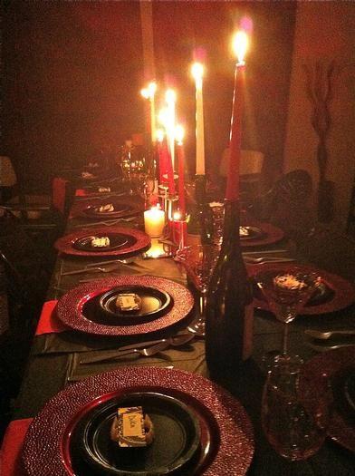 Dinner For Vampire  Hostess with the Mostess Vampire Dinner Party