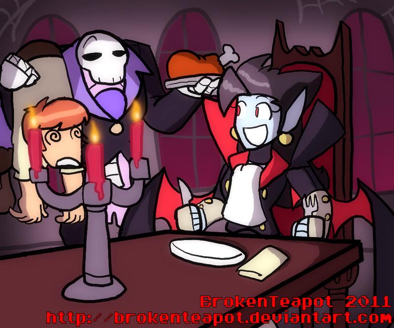 Dinner For Vampire Hentai  Vampire s dinner by BrokenTeapot on DeviantArt
