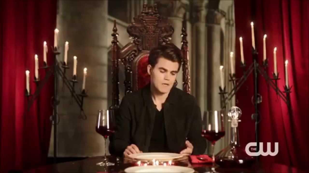 Dinner For Vampire  The Vampire Diaries My Dinner With Paul Wesley
