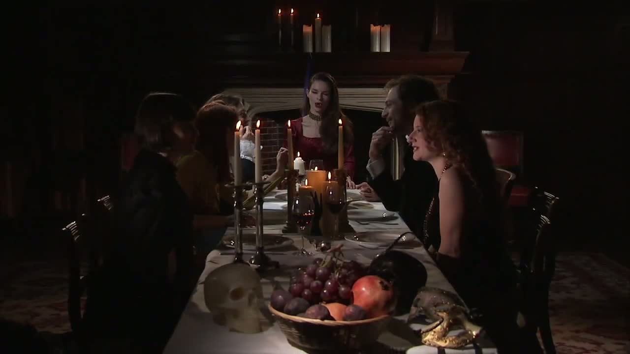 Dinner For Vampire  Bite Pavane for a Vampire Queen – Interview with