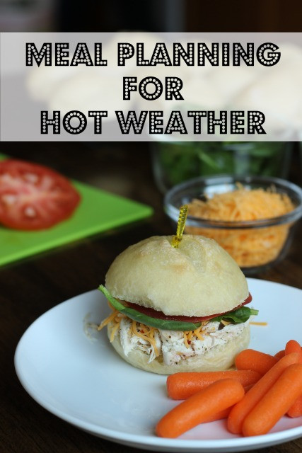 Dinner Ideas For Hot Days  Meal Planning for the Dog Days of Summer