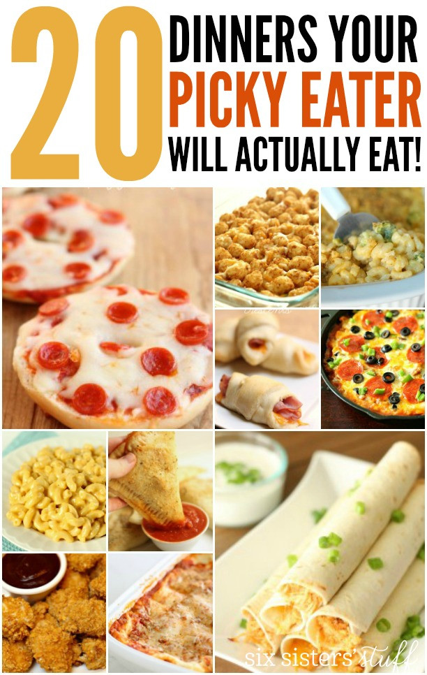 Dinner Ideas For Picky Eaters Adults  20 Dinner Recipes For Picky Eaters
