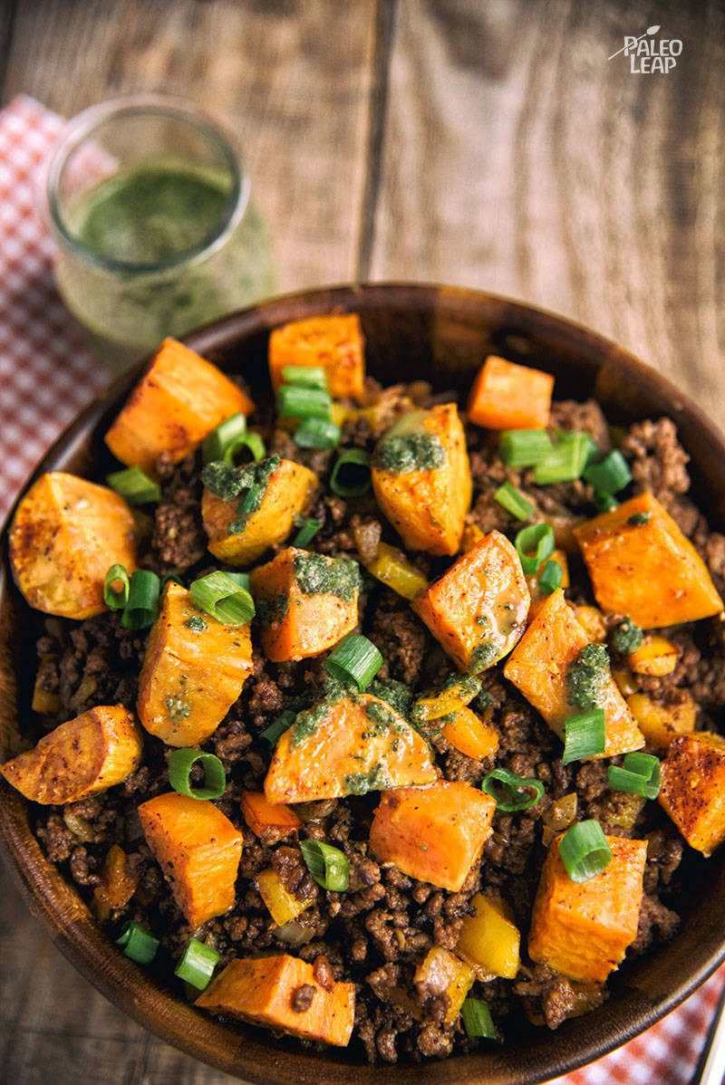 Dinner Ideas With Ground Beef And Potatoes  Sweet Potato And Ground Beef Bowl