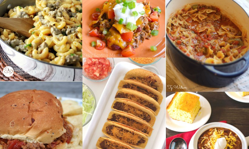 Dinner Ideas With Hamburger  56 Easy Dinner Ideas with Ground Beef