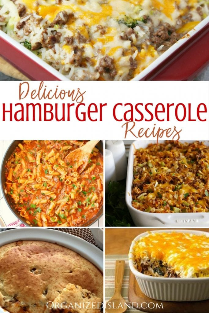 Dinner Ideas With Hamburger  Ground Beef Dinner Recipes