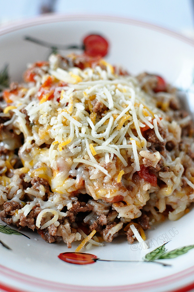 Dinner Ideas With Hamburger  Easy Dinner Ideas Porcupines In a Skillet