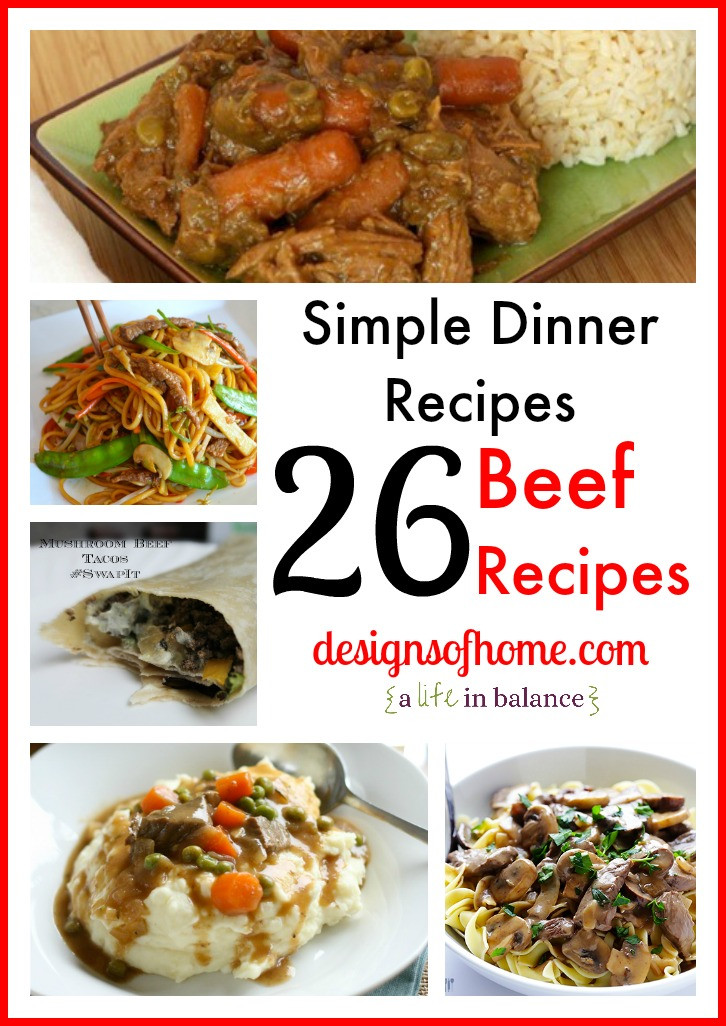 Dinner Ideas With Hamburger  Easy Dinner Recipe Beef and Tomatoes Over Rice