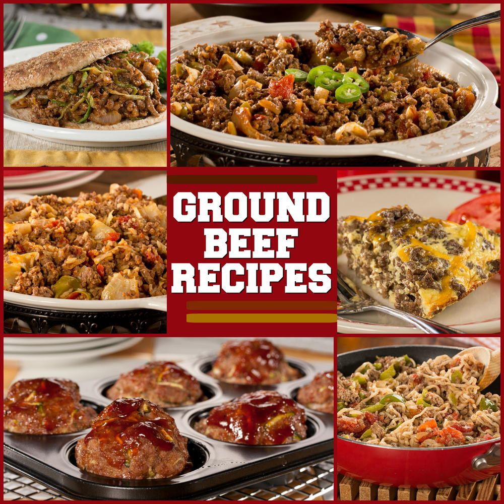 Dinner Ideas With Hamburger  Recipes with Ground Beef