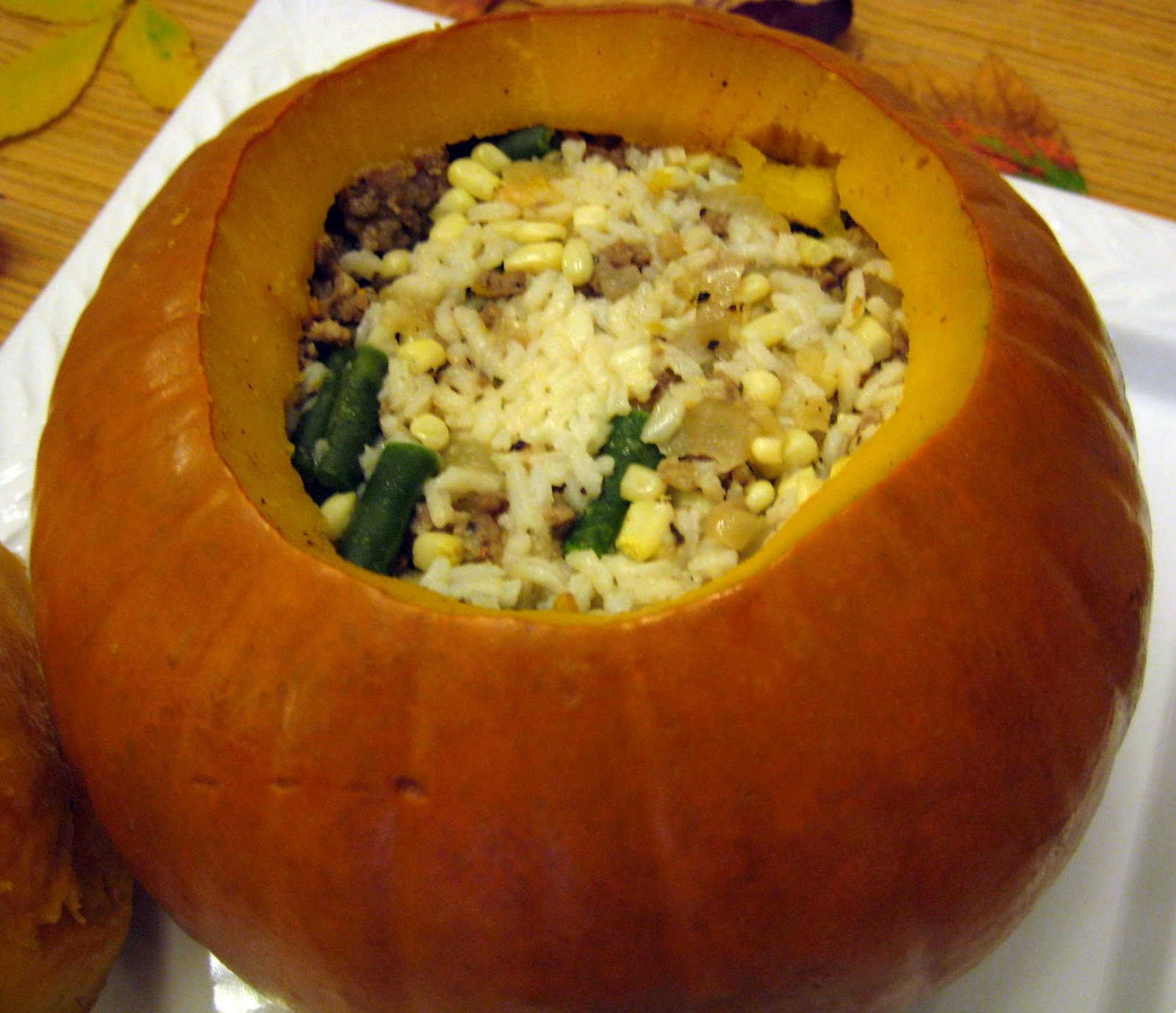 Dinner In A Pumpkin  Ginger Snap Crafts guest blogger storycrafting with joy