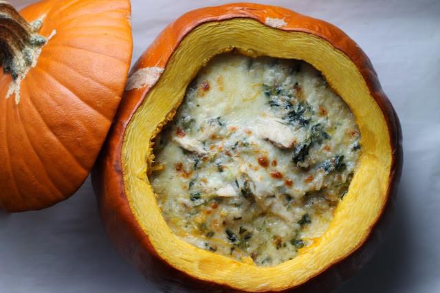 Dinner In A Pumpkin  Where Your Treasure Is Dinner in a Pumpkin
